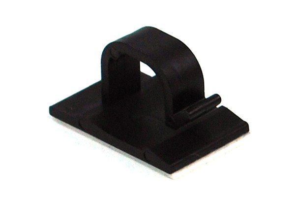 Phobya Wire Saddle Clip 8mm Black