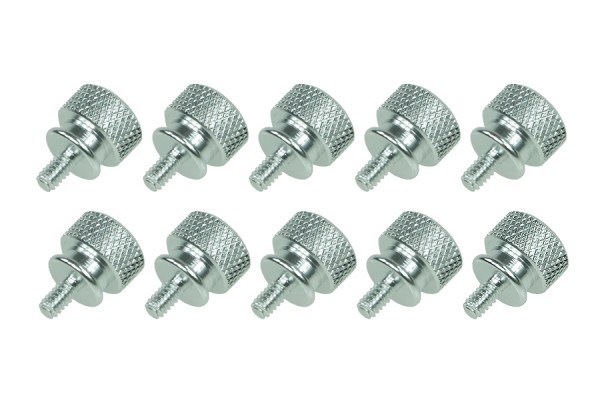 Thumbscrews case silver bigpack (10pcs)