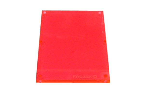 FrozenQ Replacement Flex Tank plates - Fluorescent Red