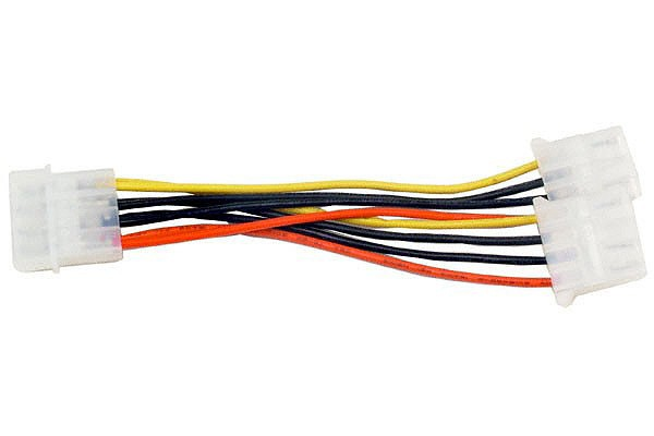 Y-cable 4Pin to 2x 4Pin