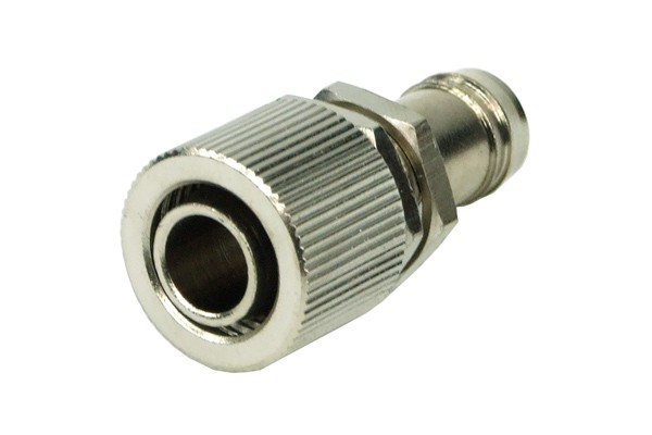 Bulkhead fitting 3/8' barbed fitting to 13/10mm compression fitting