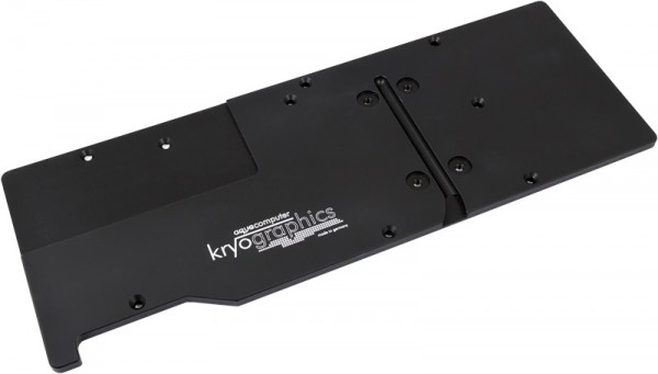 Aquacomputer backplate for kryographics GTX TITAN X, passive