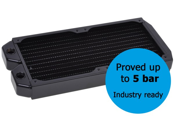 Alphacool NexXxos ST30 Industry HPC Series 240mm radiator