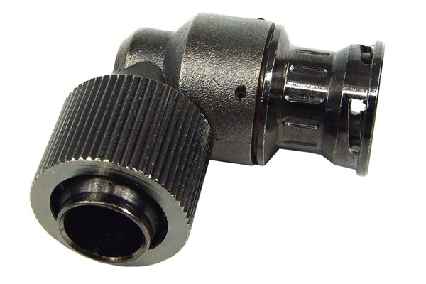 "Quick release connector 16/13mm (1/2"") 90° - coupling - black nickel"