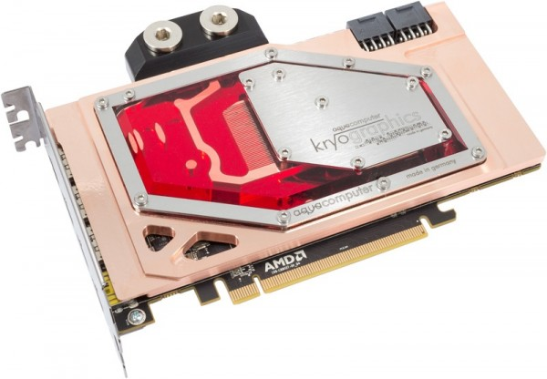 Aquacomputer graphic card Radeon R9 Fury X, 4GB HBM with installed kryographics für Radeon R9 Fury X