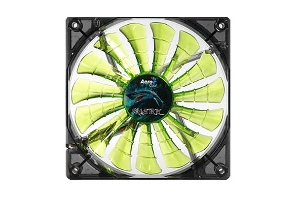 Aerocool Shark Fan Evil Green Edition - Green (140x140x25mm)