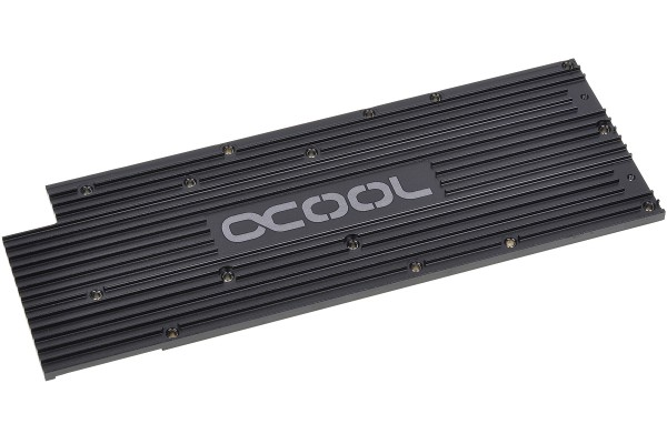 Alphacool Backplate for GPX - AMD R9 280X M04 - black