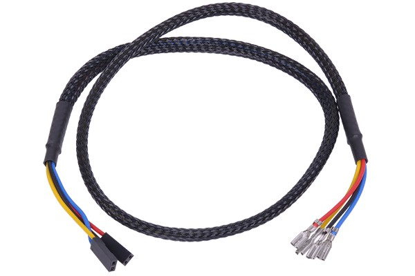 Phobya button/switch connection cable 60cm - black