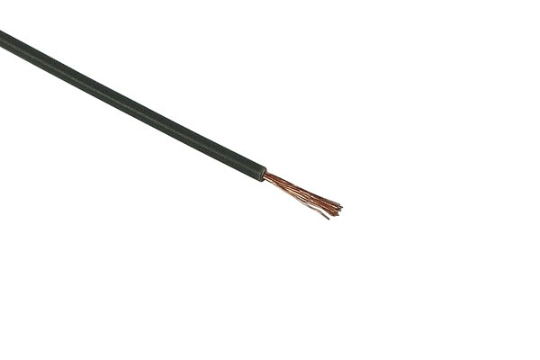 Insulated copper lead 1x0,14mm² 10m grey