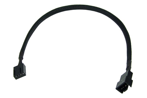 Phobya 4Pin PWM extension 30cm - black