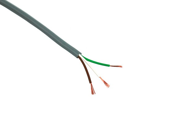 Control cable 3x0,14mm² unshielded 3-lead 5m