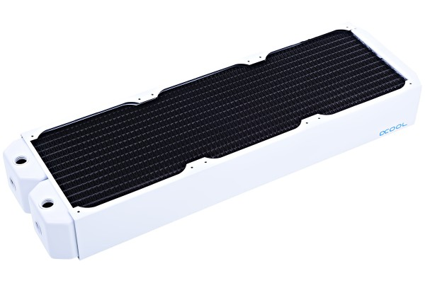 Alphacool NexXxoS UT60 Full Copper 420mm radiator - White Special Edition