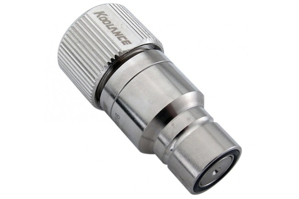 "Koolance quick release connector 16/13mm (ID 1/2"" OD 5/8"") male (High Flow) - QD3"