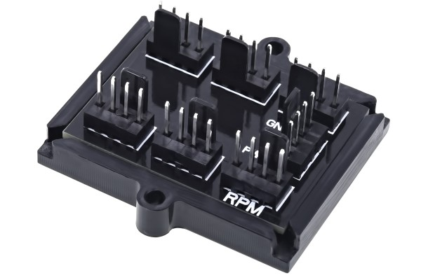 Phobya 4Pin PWM to 6x 4Pin Fan Splitter PCB