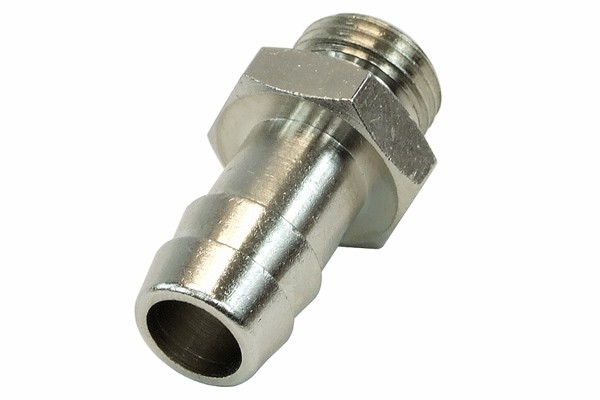 """11mm (1/2"""") barbed fitting G1/4 with O-Ring"""