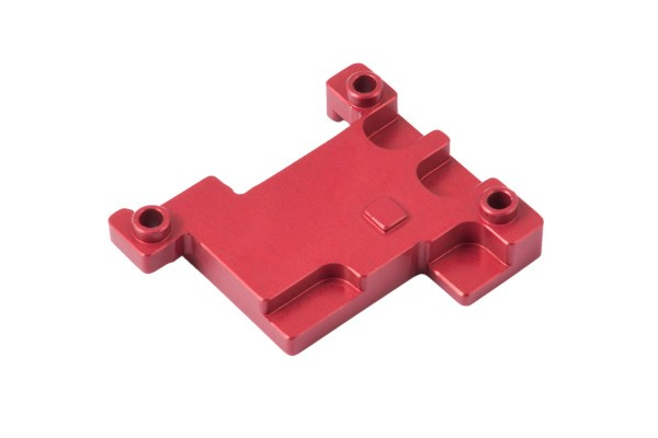 Aquacomputer Passive heat sink for poweradjust 3, red