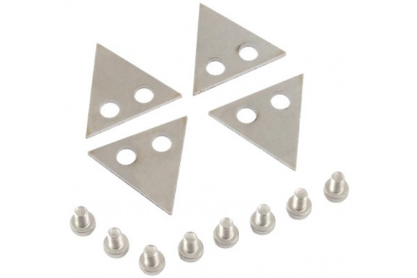 Aquacomputer Set of interconnection plates (side-by-side) for airplex modularity system