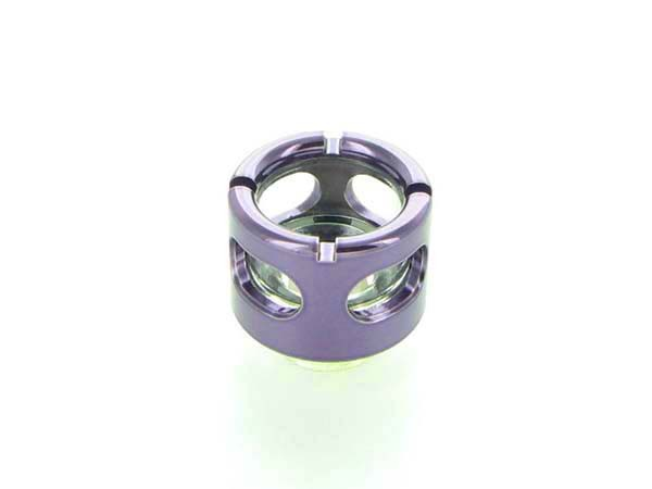 "Monsoon Hardline 16/13mm (ID 1/2"" OD 5/8"") compression fitting - Purple"