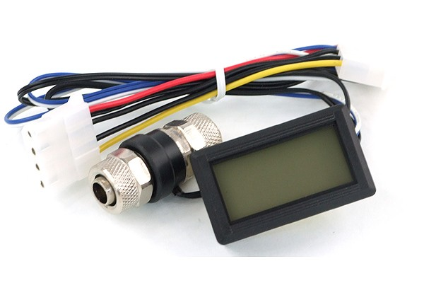 temperature sensor In-Line 10/8mm and 11/8mm with Display (red)