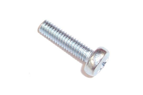 screw DIN 7985 M4 x 5 cross flat zinc coated