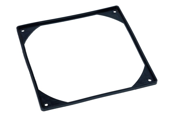Phobya silicone vibration absorber for 180mm fans - black