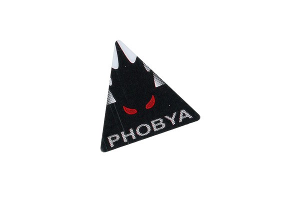 Phobya Sticker Alu triangular