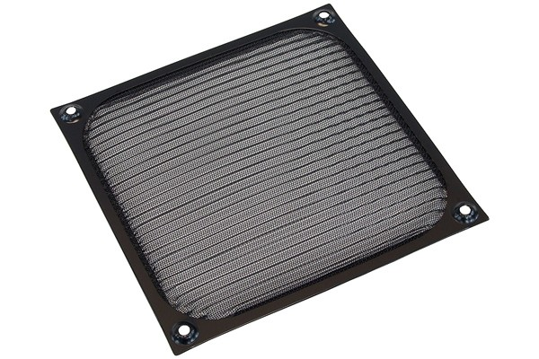 Air filter 140mm colour black