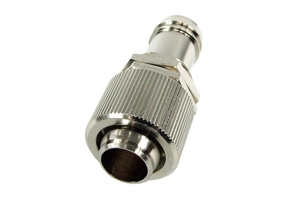 Bulkhead fitting 16/13mm barbed fitting to 16/13mm compression fitting