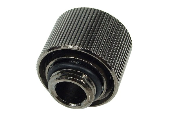 16/10mm compression fitting G1/4 - compact - black nickel