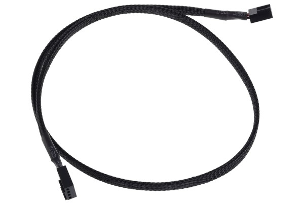 Phobya 4Pin PWM male to male 60cm - black